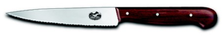 Vegetable/ Cooks Knife, serrated edge