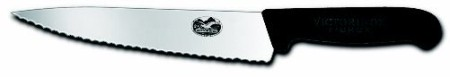 Chef's Knife, serrated edge