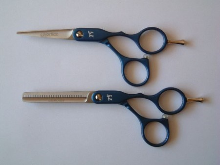 TRI Colorline Scissor &Thinner set  Offset (ABOVE)